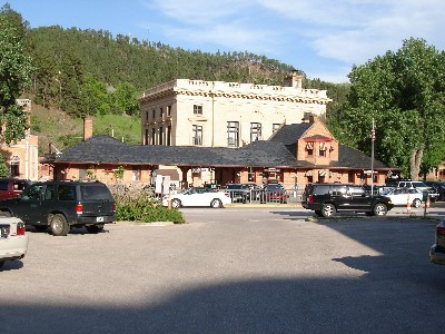 Deadwood Old Train Station