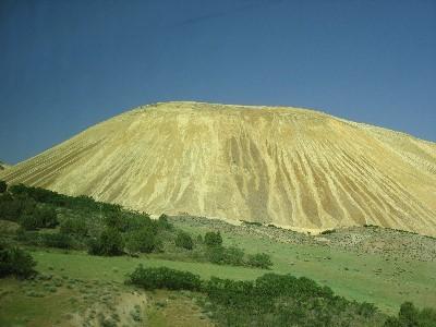 Bingham Copper Mine waste mountain