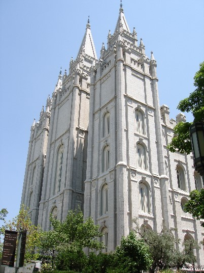 Salt Lake Temple in Temple Square