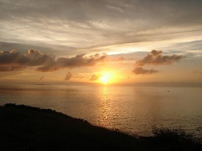 天台日落2