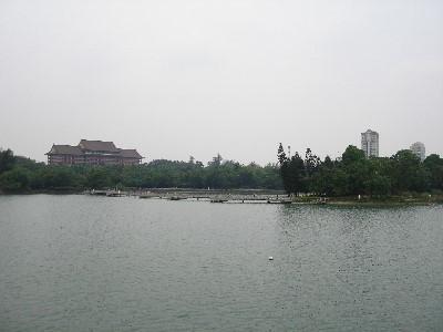 澄清湖畔一景