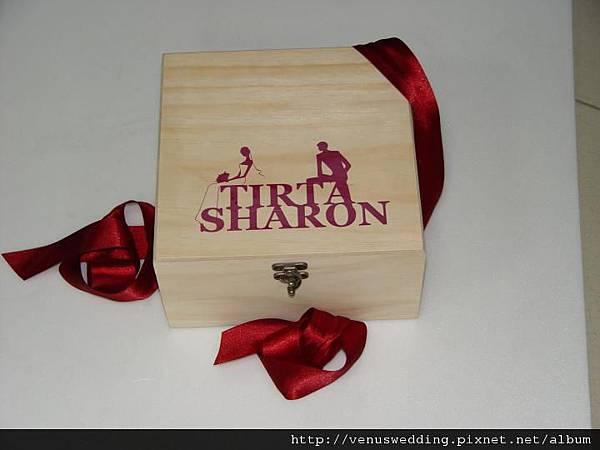 婚盟木製喜餅禮盒-