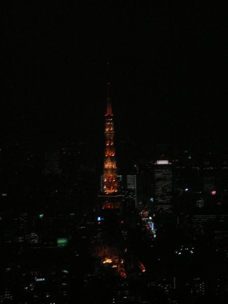 遠眺東京鐵塔