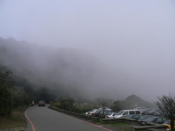 還是好霧啊~
