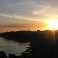 在海濱大道看夕陽