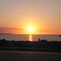 在Cullen Bay看夕陽