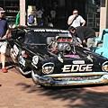 週末有賽車,所以市區裡出現了很多特別的車子