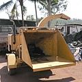 這就是削木屑的機器