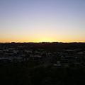在ANZAC Hill看夕陽