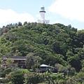 遠眺著名的拜倫灣燈塔