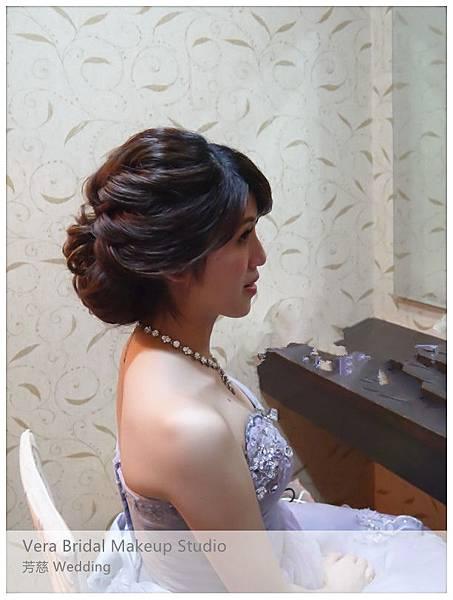 儷宴國際美食館,桃園新娘秘書,低髻馬尾,清透妝感,自助婚紗