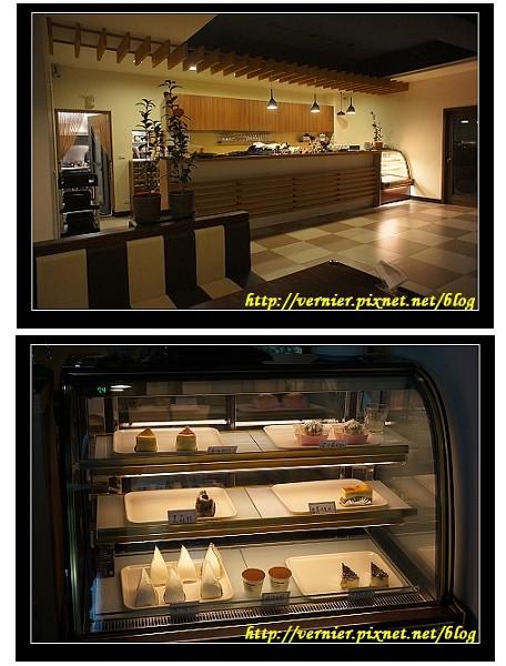 吧台與甜點櫃組合