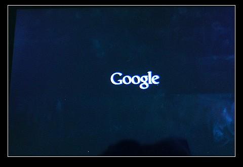 開機Google畫面