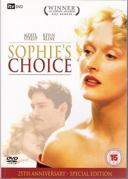 蘇菲的抉擇DVD封