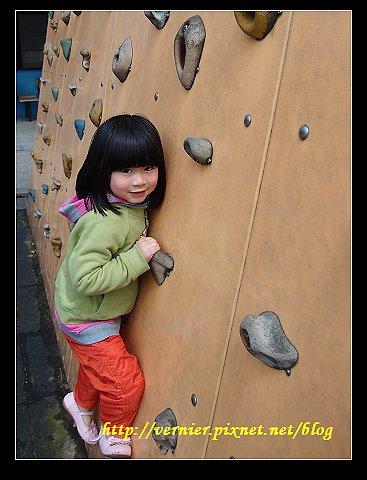 我也會攀岩