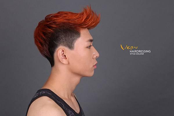 天枰座-韋恩對比髮型-男