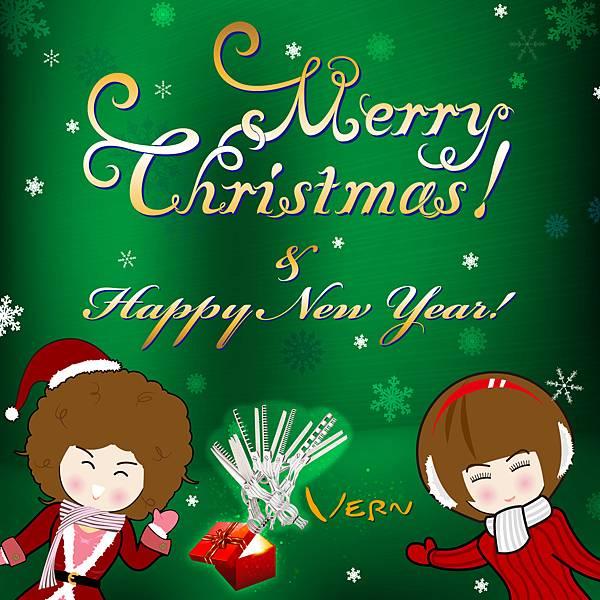 韋恩美髮學院祝您聖誕快樂新年快樂!