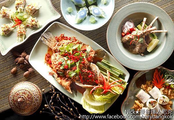 曼谷達人尼克-台北喜來登SUKHOTHAI【復刻泰宴風華】經典名饌菜色照片