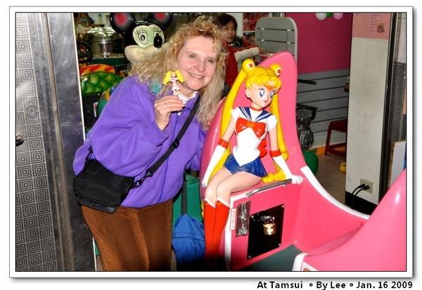 Cyndi和美少女戰士