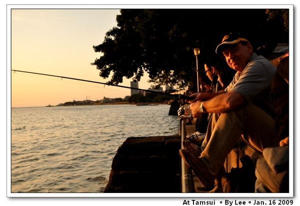 Ken love fishing very much