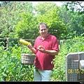Ken in garden