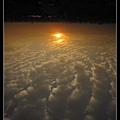 夕陽,日落模式
