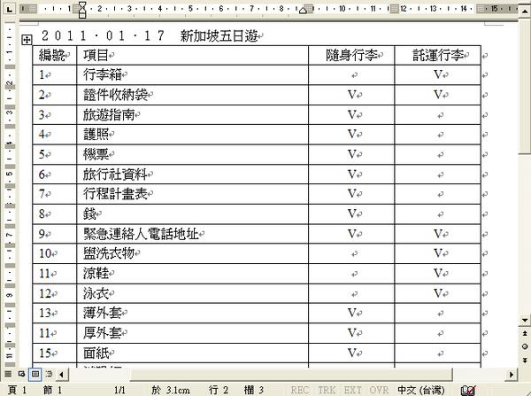 行李計畫表2.bmp
