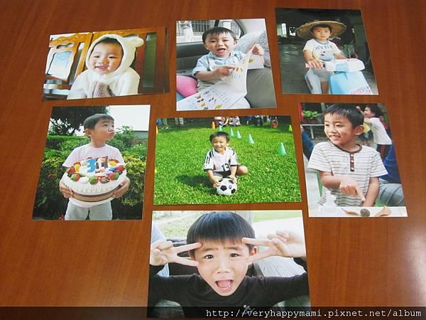 0-6歲成長照片