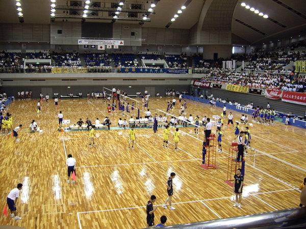 日本室內比賽場地