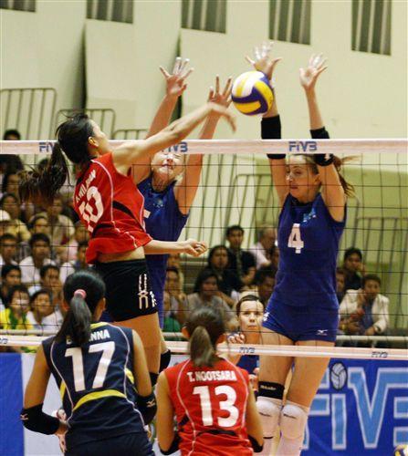 泰國隊攻擊