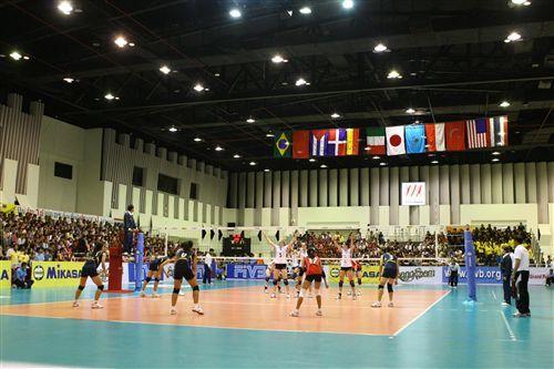 泰國站比賽場地