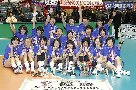 2012東麗優勝