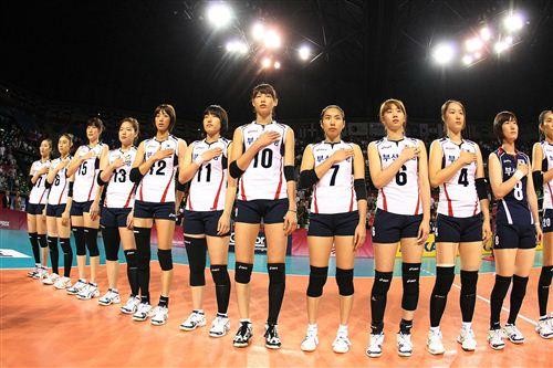 2012韓國女排