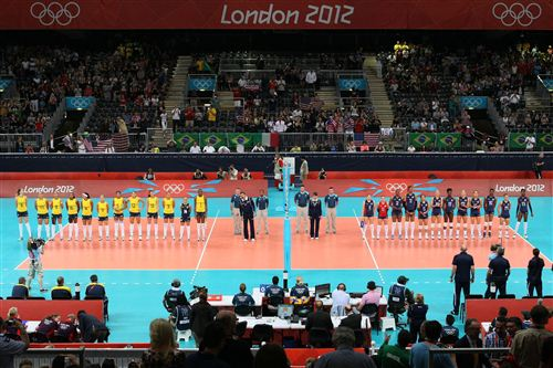 女排金牌戰美國VS巴西