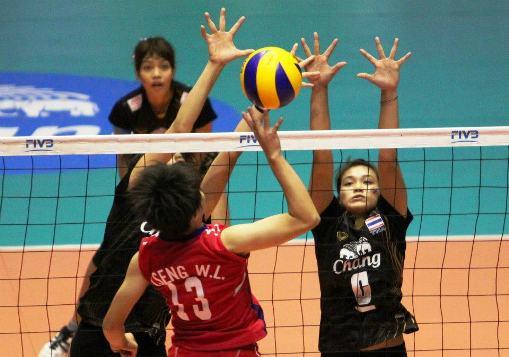 中華青女VS泰國