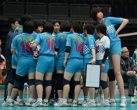 日本高中女排
