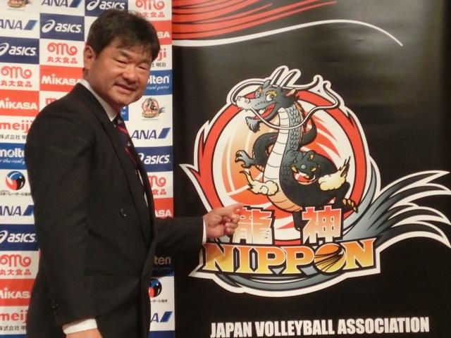2013日本男排新教練