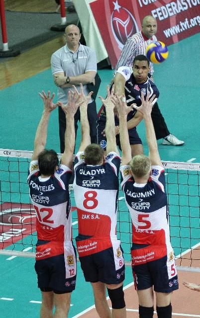 歐冠男排4強