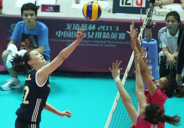 中國國際女排精英賽0522