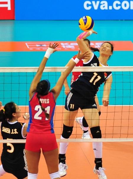 中國國際女排精英賽0524