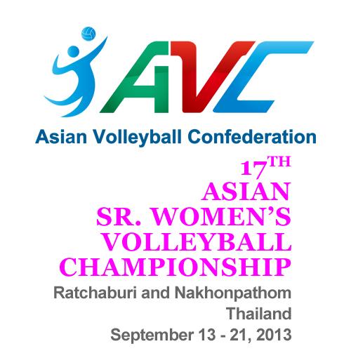 2013亞洲女排錦標賽LOGO