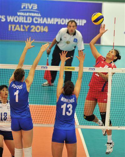 中華青女VS塞爾維亞