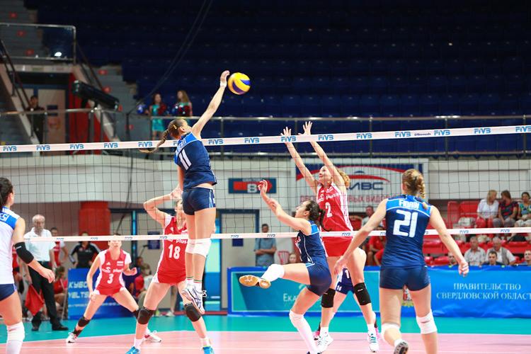 俄羅斯總統盃女排0628