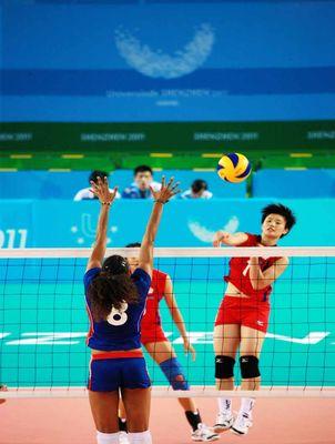 2011深圳世大運女排