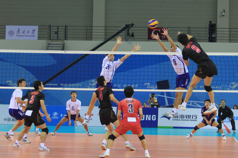 中華男排VS日本