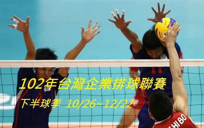 台灣企業聯賽下半球季LOGO