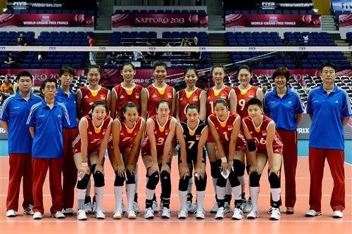 2014中國女排