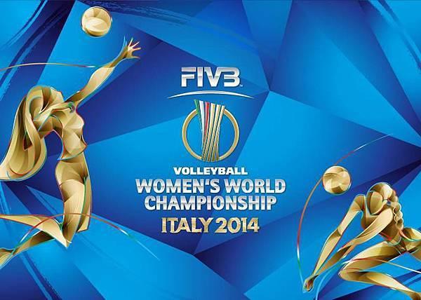 2014世界女排錦標賽LOGO