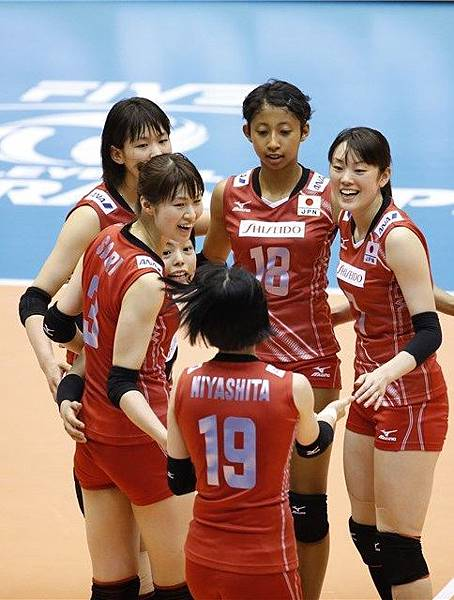 2015日本女排