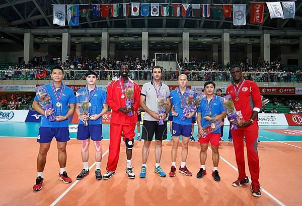 2015亞俱男排最佳球員